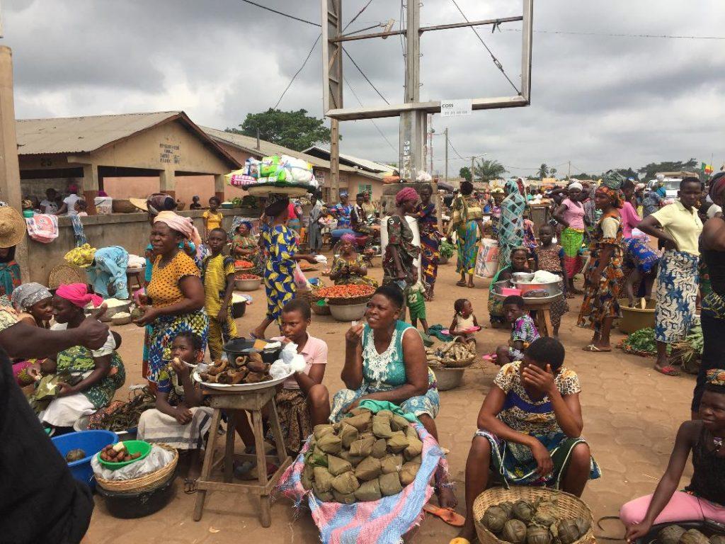 Mercado de benin