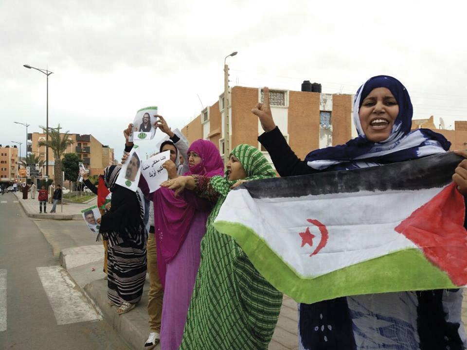 Diez años de un símbolo de resistencia contra la ocupación del Sahara  Occidental | elminuto