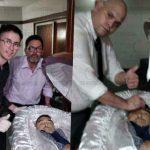 Desaparecido sepulturero que se sacó una foto con el cuerpo de Maradona