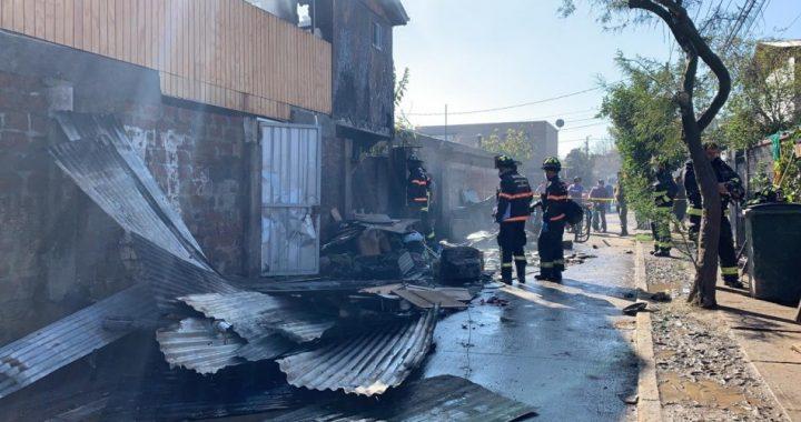 Peñalolén: confirmaron la muerte de cuatro personas tras incendio