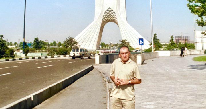 El misterioso Irán junto Alberto Maestre Fuentes