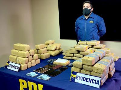 Brianco desarticulan banda de narcotraficantes que operaba en la región de Tarapacá