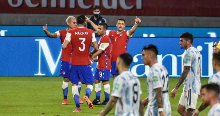 La Roja igualó ante Argentina en las clasificatorias al Mundial de Qatar 2022