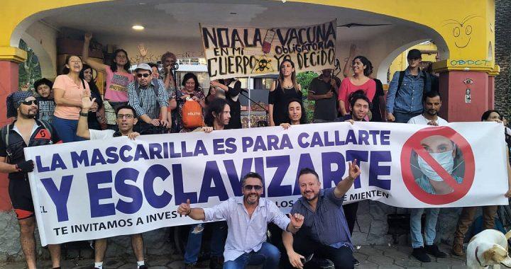 El Antipartido que convoca a rebelarse contra la dictadura sanitaria