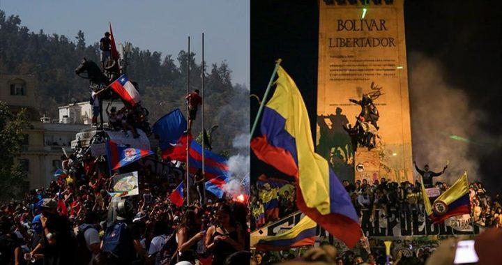 Manifestaciones sociales en Chile y Colombia: similitudes y diferencias