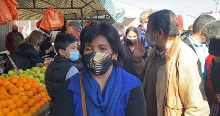 Yasna Provoste fue increpada y expulsada de una feria en Puente Alto