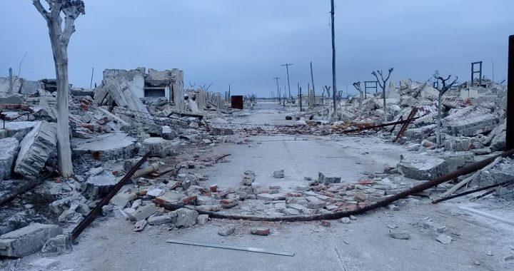 Las ruinas de Villa Epecuén a 35 años de su inundación