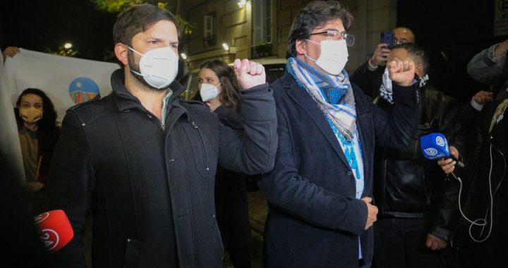"""Jadue critica a Gabriel Boric: """"Gracias a él hoy día tenemos presos políticos en Chile"""""""