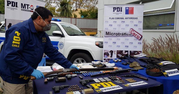 Más de 11 años de presidio para acusado por tráfico, tenencia de armas y municiones
